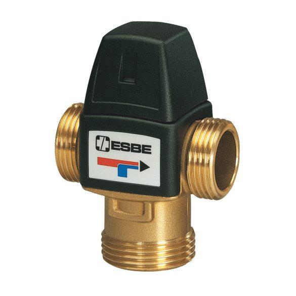 """ESBE VTA322 termosztatikus háromjáratú keverőszelep, 20-43°C, Kvs=1.6, 1""""K"""