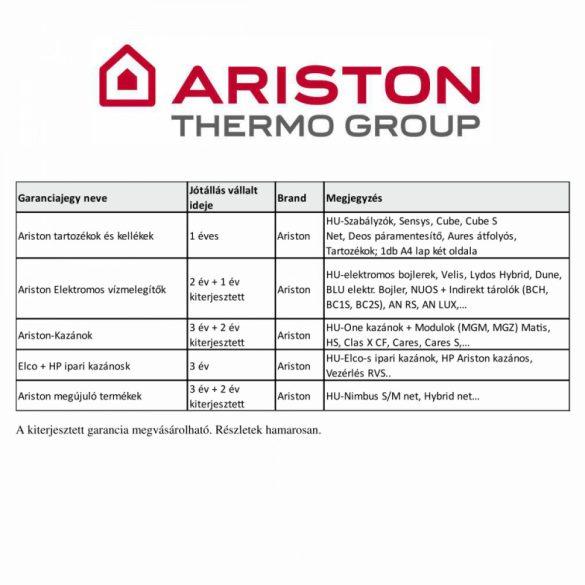 ARISTON S/SGA X 120 EE 120 literes kéményes gázbojler, fali elhelyezésű