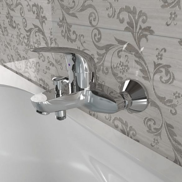 GROHE Euroeco kádtöltő csaptelep, egykaros, zuhanyszett nélkül