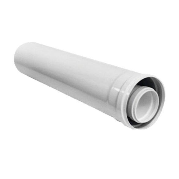 Ariston koncentrikus hosszabbító cső PPs/alu 60/100x500mm