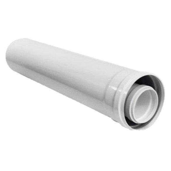 Ariston koncentrikus hosszabbító cső PPs/alu 80/125x1000mm