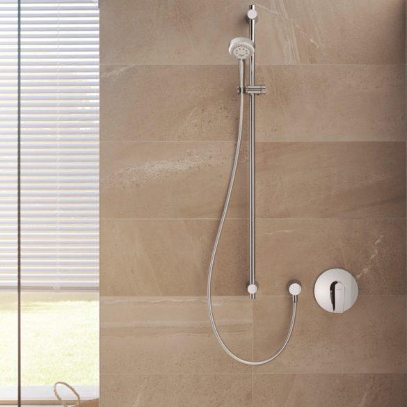 KLUDI látható rész Pure&Solid falba süllyesztett zuhanycsaptelephez, egykaros, króm