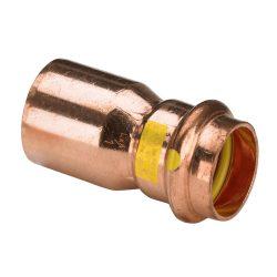 VIEGA 2615.1 Profipress G vörösréz szűkítő, gázra, 1 tokos, 28-15mm