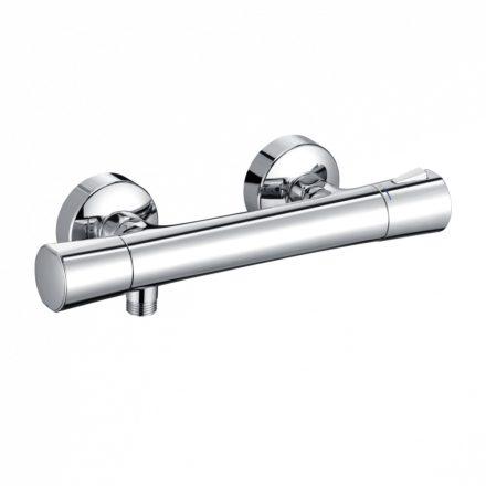 """KLUDI Zenta termosztatikus fali zuhany csaptelep, zuhanycsatlakozás 1/2"""""""