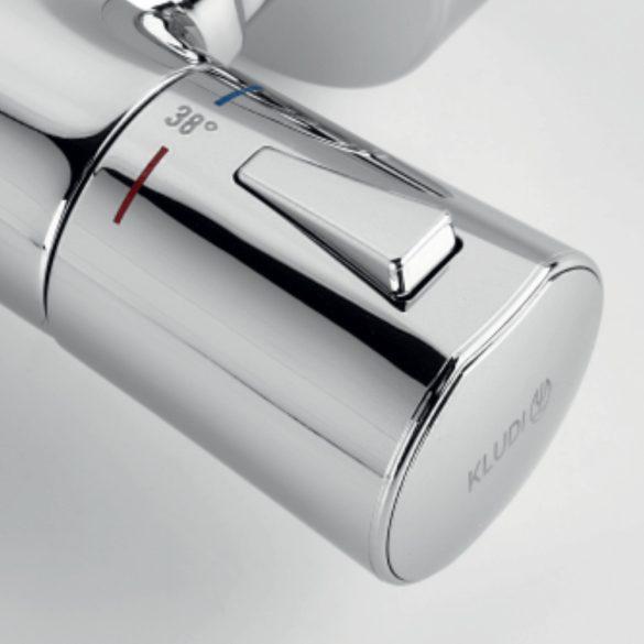 KLUDI Zenta fali termosztatikus kádtöltő- és zuhany csaptelep image kép