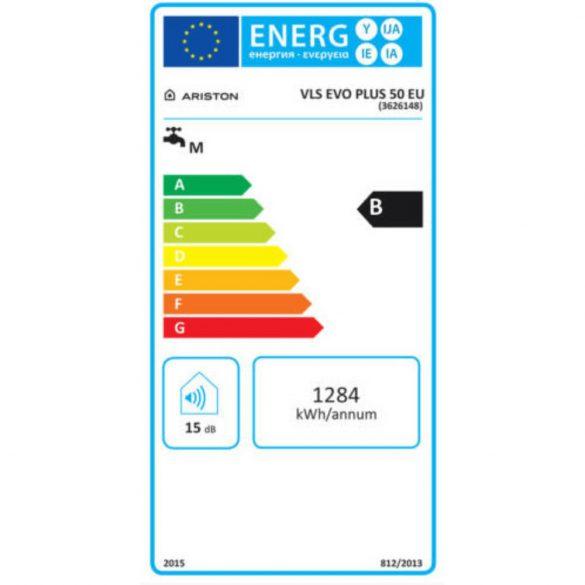 Az ARISTON Velis Evo Plus 50 EU ERP tárolós, elektromos vízmelegítő méterei