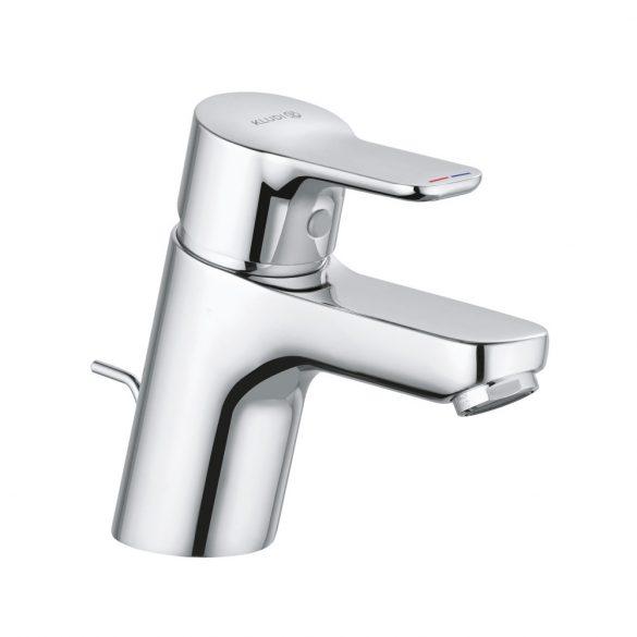 KLUDI Pure&Easy 60 egykaros mosdó csaptelep, automata leeresztőszeleppel, króm kivitel