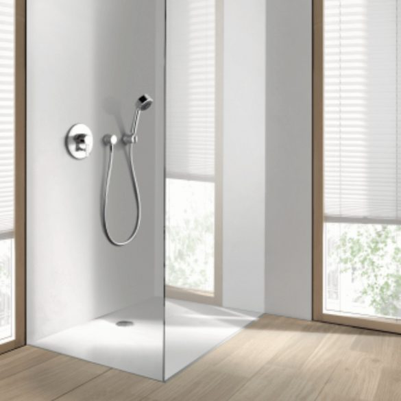 KLUDI látható rész méretek Zenta egykaros kád- és zuhany csaptelephez, króm kivitel