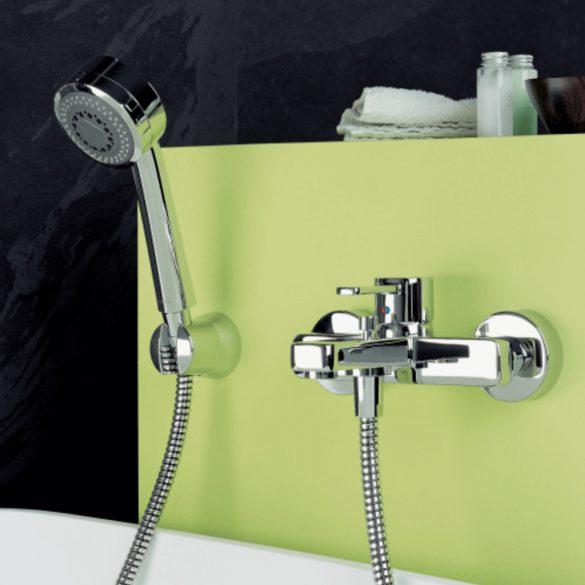 KLUDI Zenta kádtöltő- és zuhany csaptelep, egykaros, króm