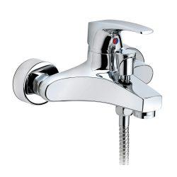 MOFÉM Flame egykaros kádtöltő csaptelep, Ducal zuhanyszettel