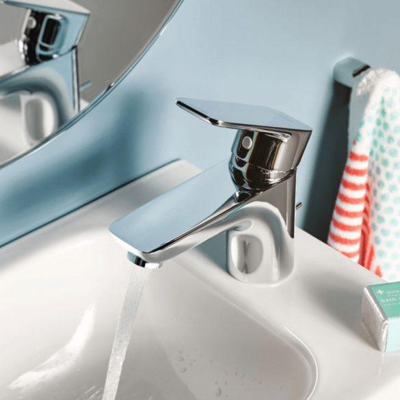 KLUDI Pure&Style 100 mosdócsaptelep, egykaros, automata leeresztőszeleppel, króm