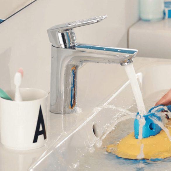 KLUDI Pure&Style 100 mosdócsaptelep, egykaros, leeresztő szelep nélkül, króm