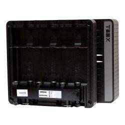 FixTrend T-Box fűtőköri osztó-gyűjtő és hidraulikus váltó, EPP szigetelt, 3körös, DN20