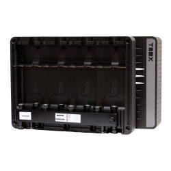 FixTrend T-Box fűtőköri osztó-gyűjtő és hidraulikus váltó, EPP szigetelt, 4körös, DN20
