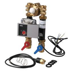 FixTrend T-Box PF termosztatikus kevert köri egység, szigetelés nélkül, DN20 WILO YONOS PARA 15/1-6 szivattyúval