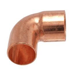 IBP 5092 forrasztható réz könyök, 90°, 1 tokos, 28mm