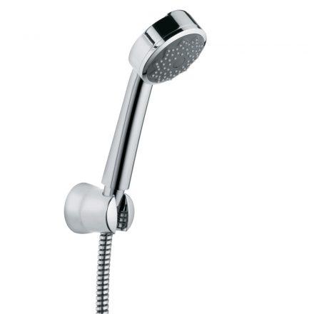 KLUDI Zenta 1S zuhanygarnitúra, fix zuhanytartóval, 125cm-es gégecsővel, króm kivitel