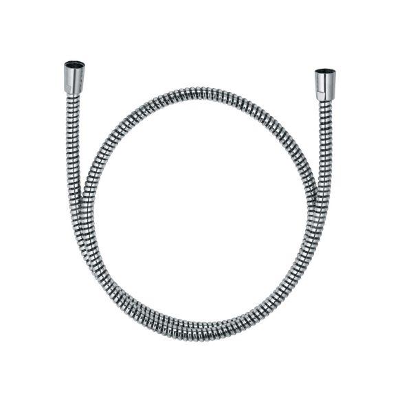 KLUDI Logoflex zuhanygégecső, külső műanyag réteggel, fémhatás, 125cm