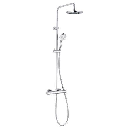 KLUDI Logo DSS zuhanyrendszer termosztátos csapteleppel