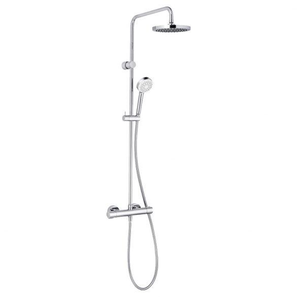 KLUDI Logo DSS termosztatikus zuhanyrendszer, króm
