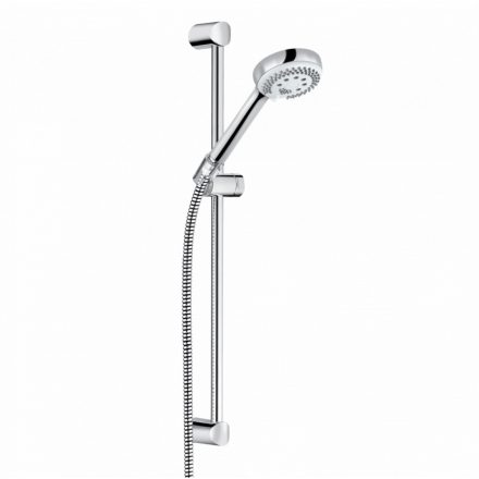 KLUDI Logo 3S zuhanyszett, 60 cm-es falirúddal, króm kivitel