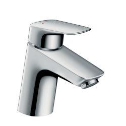 HANSGROHE Logis 70 egykaros mosdó csaptelep, push-open leeresztő szeleppel, króm kivitel
