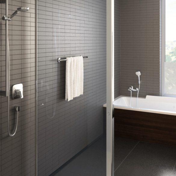 HANSGROHE Logis zuhanycsaptelep, egykaros, falsík alatti, króm