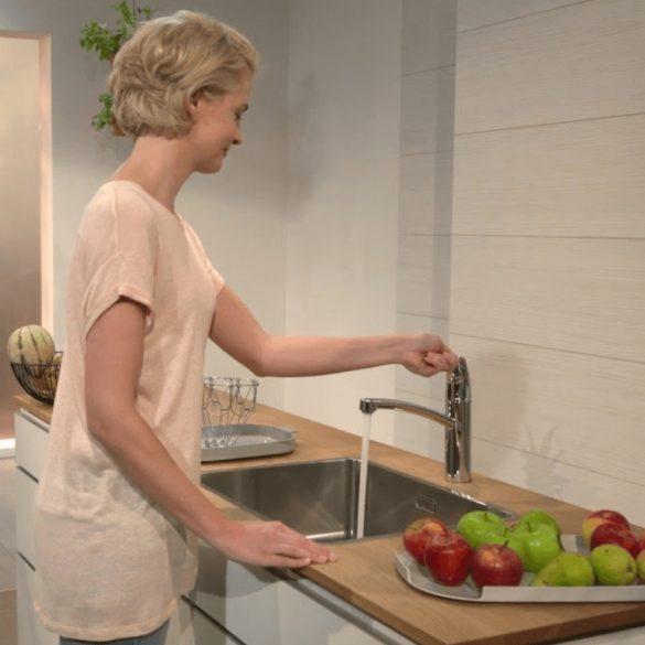 HANSGROHE Logis 160 mosogató csaptelep, egykaros, króm