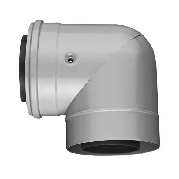 BOSCH AZB 607/1 90°-os könyök 80/125mm