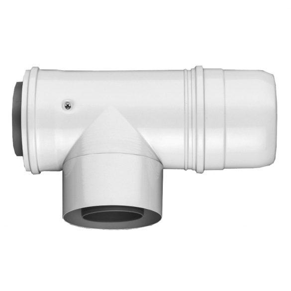 BOSCH AZB 609/1 koncentrikus ellenőrző T idom PPS/alu 80/125mm