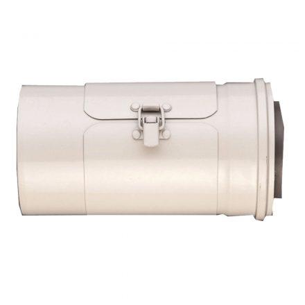 BOSCH AZB 681/1 koncentrikus ellenőrző nyílás falon kívüli szereléshez PPS/alu 80/125mm