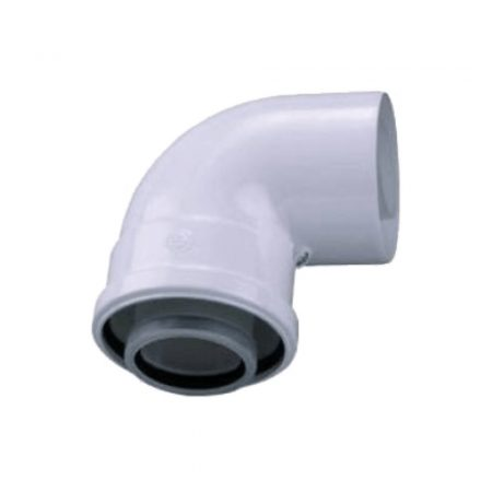 BOSCH AZB 910 koncentrikus könyök 90° PPS/alu 60/100mm