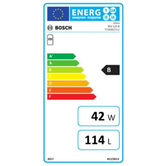 Bosch WD 120 B indirekt fűtésű melegvíztároló