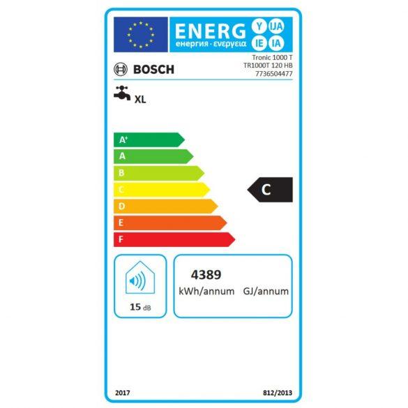 BOSCH Tronic 1000T ERP vízszintes elhelyezésű 120 literes villanybojler, 2kW