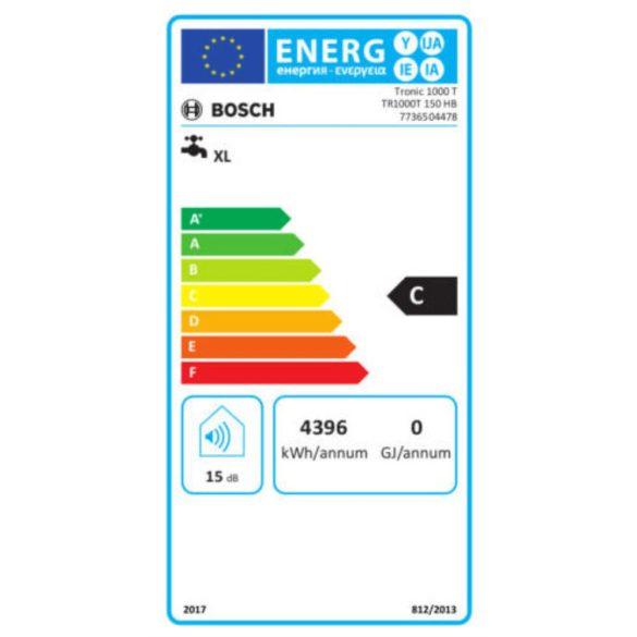 BOSCH Tronic 1000T ERP vízszintes elhelyezésű 150 literes villanybojler, 2KW