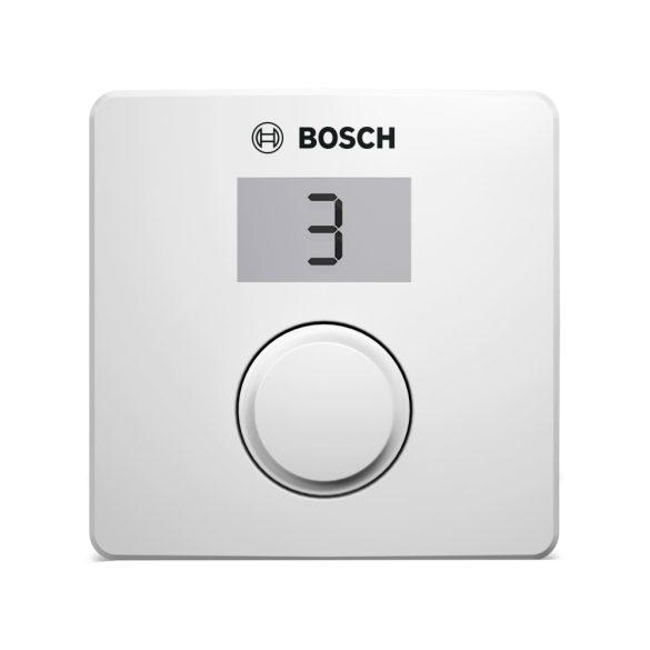 Bosch CR10H digitális szobatermosztát, mechanikus, páratartalom érzékelő, BUSZ