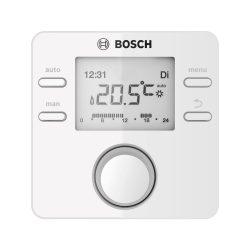 Bosch CR100 digitális szobatermosztát, MB RF jeladóval, programozható