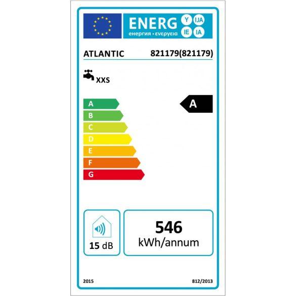 Energiacímke az ATLANTIC Opro Small ERP tárolós, zárt rendszerű, elektromos vízmelegítőhöz