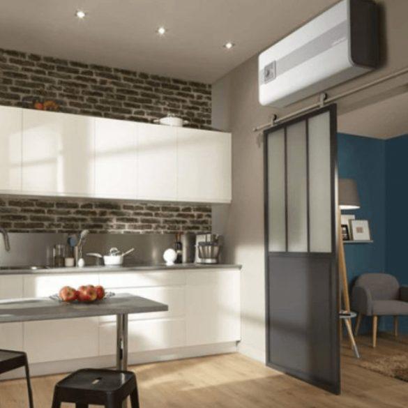 ATLANTIC Vertigo STEATITE ERP 50 literes energiatakarékos bojler, függőleges, vagy vízszintes elhelyezésű, elektromos 230V