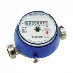 """B-METERS GSD8/AC vízóra melegvízre, falba építhető, csatlakozó nélkül, 80mm-es, 1.5m3/h, 1/2"""""""
