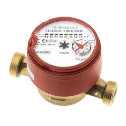 """B-METERS GSD8 AC vízóra melegvízre, szárazon futó, csatlakozó nélkül, 130mm, 4m3/h, 3/4"""""""