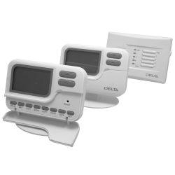 DELTA C2 RF programozható szobatermosztát, rádiófrekvenciás, 2 körös kivitel