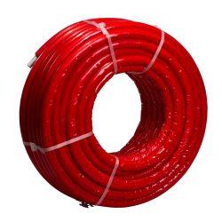 CONCEPT MLC S4 PE-RT/Al/PE-RT szigetelt ötrétegű cső, piros, 16x2mm, 100m/tekercs