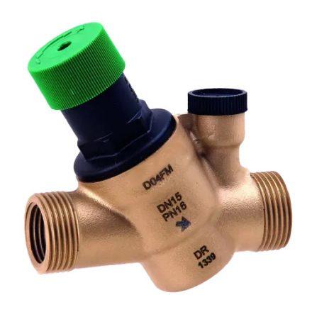 """HONEYWELL víznyomáscsökkentő, PN16, 1.5-6bar, PN16/40°C, PN10/70°C, 1/2""""KK"""