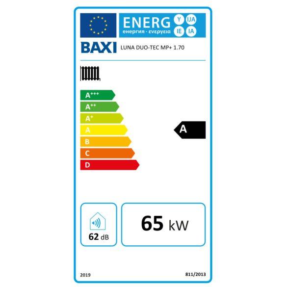 BAXI Luna Duo-Tec MP 1.70+ ERP fűtőkazán, kondenzációs, fali, 65kW, IPX5D