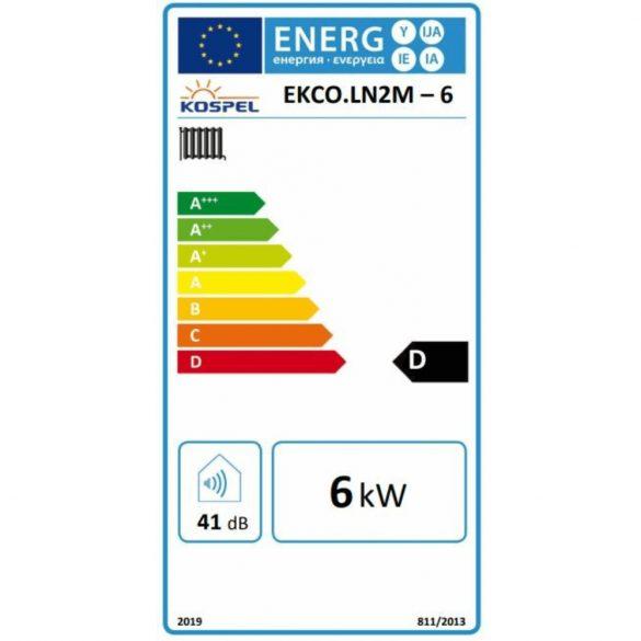 KOSPEL EKCO.LN2M-6 elektromos kazán, tágulási tartállyal, 400V/230V, 6kW