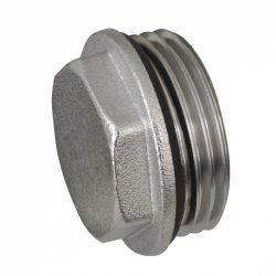 """DELTA nikkelezett osztó dugó tömítő gyűrűvel 1"""""""