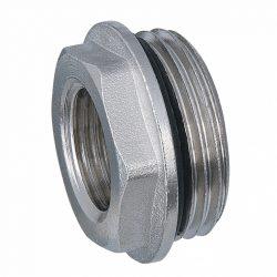 """DELTA nikkelezett osztó szűkítő tömítő gyűrűvel 3/4""""x1/2""""KB"""