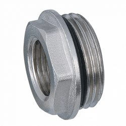 """DELTA nikkelezett osztó szűkítő tömítő gyűrűvel, 1""""X3/4""""KB"""