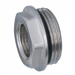 """DELTA nikkelezett szűkítő tömítő gyűrűvel1""""x1/2""""KB"""